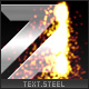 Xml text/logo steel melting effect - ActiveDen Item for Sale