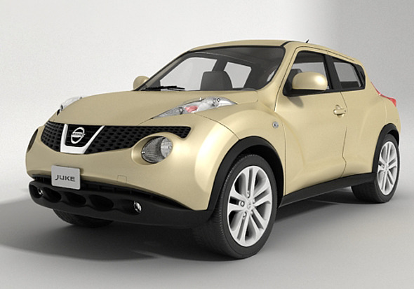 Nissan Juke 2013 - 3DOcean Item for Sale