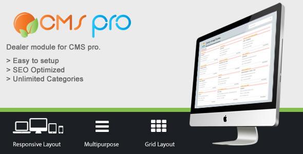 Dealer Manager Module for CMS pro