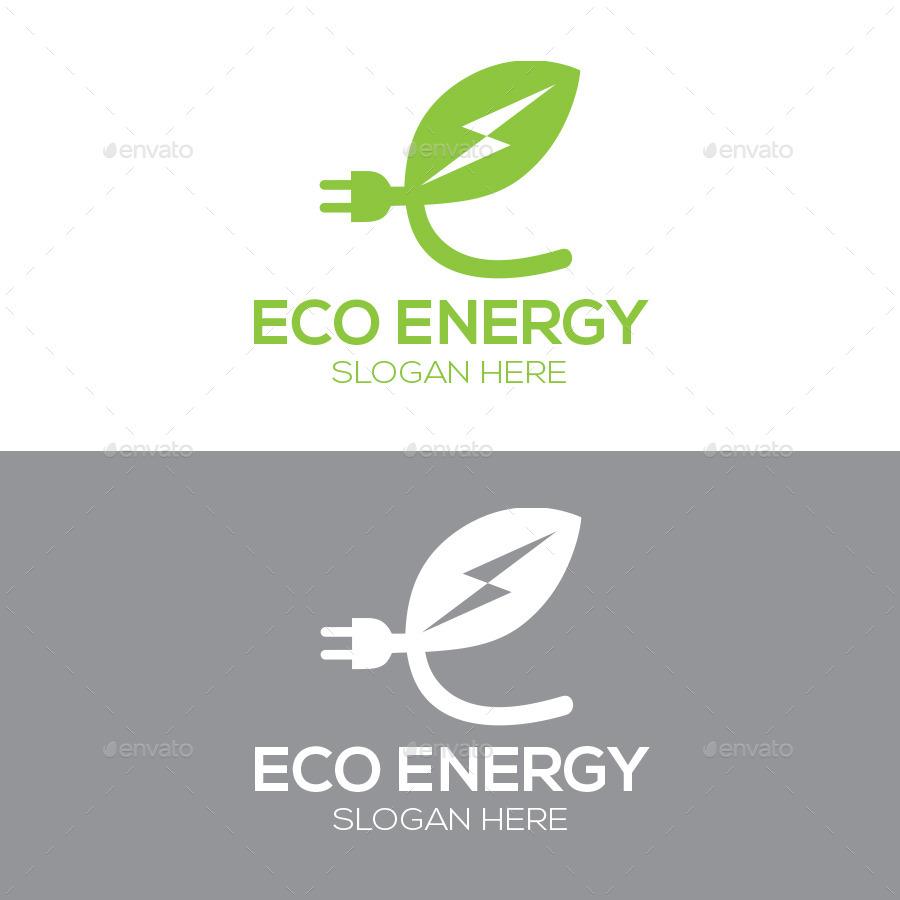 Eco energy by logomuseum graphicriver - Auchan eco energie ...