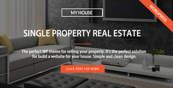 17 - My House - Single Property Real Estate WP Theme