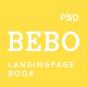 BEBO -  Book's Landingpage PSD