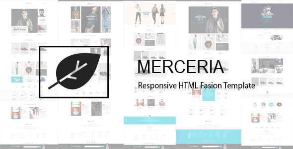 Merceria - Responsive HTML Fashion Template