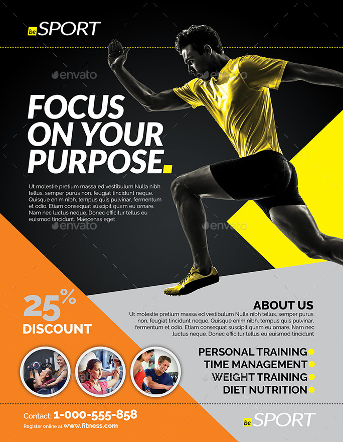 Fitness Flyer by inddesigner – Fitness Flyer