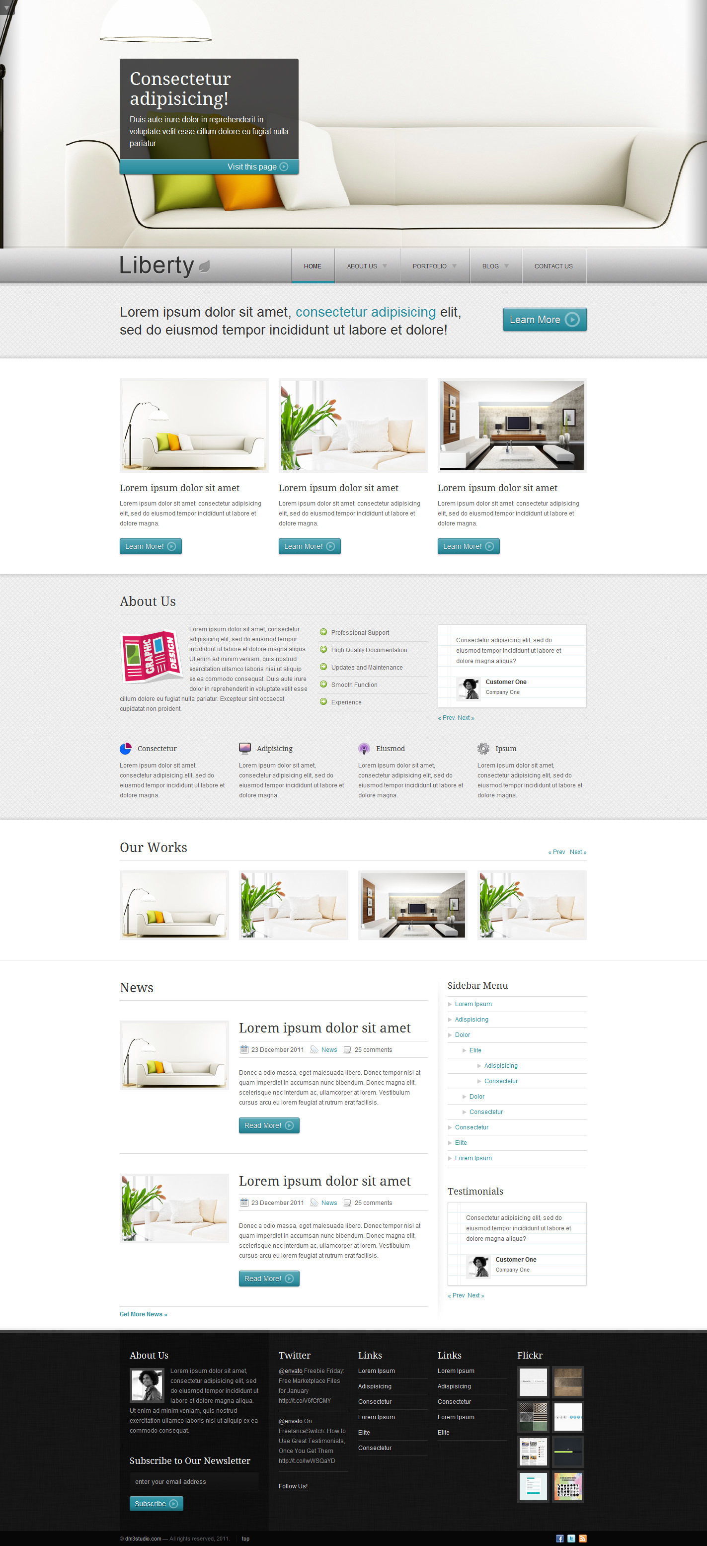 Liberty - Business HTML Template