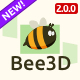 Bee3D Slider - Touch-Enabled Pure JS Plugin