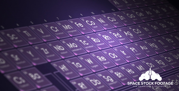 VideoHive Periodic Table 12451298