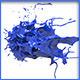 HD Abstract Water Paint Liquid Splash 29