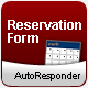 Reservation/Appointment form - with AutoResponse - ActiveDen Item for Sale