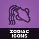 Hand Drawn Zodiac Icons