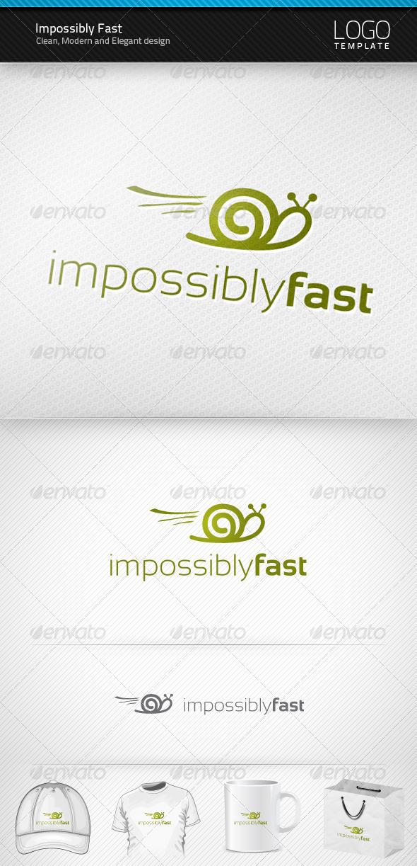 Impossibly Fast Logo - Symbols Logo Templates