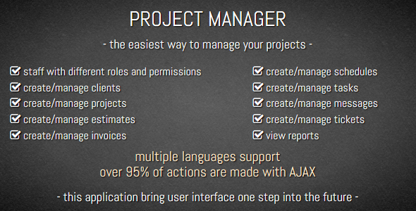 Download PROJECT MANAGER nulled download