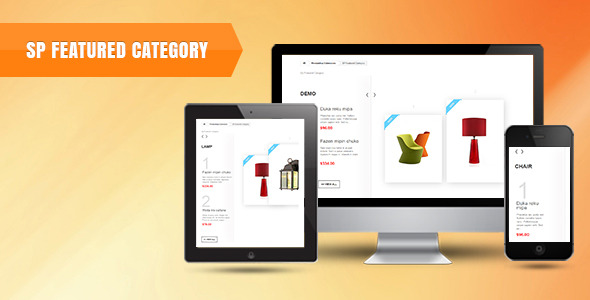 SP Featured Category - Prestashop Module