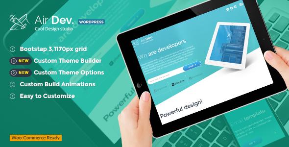 AirDev - Responsive WordPress Theme