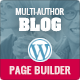 Multi-Author Blog WordPress Theme - ThemeForest Item for Sale