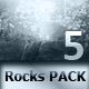 Rock Texture Pack - 5 Hi-Res Elements - GraphicRiver Item for Sale