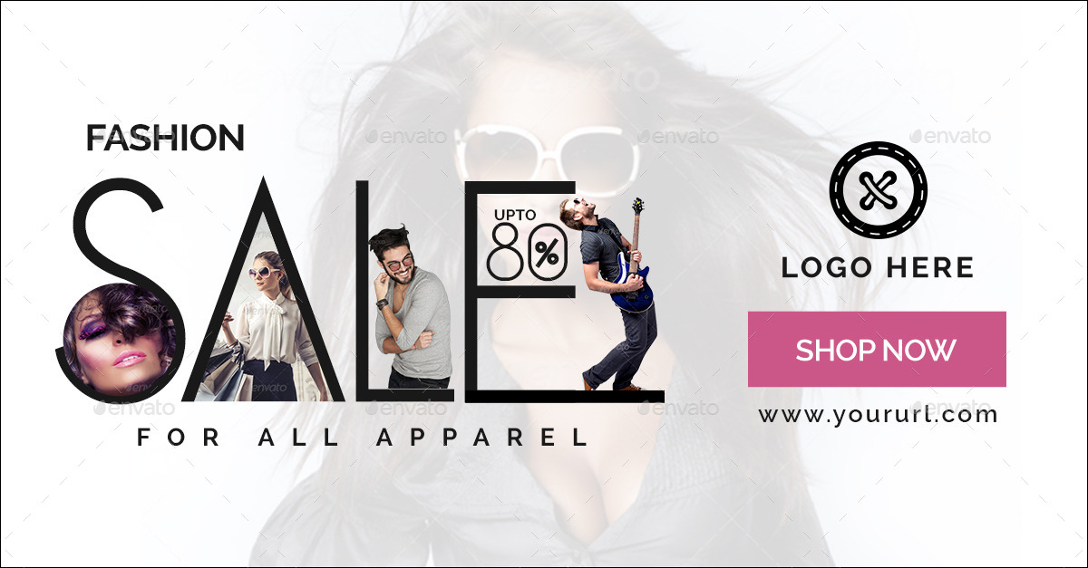 Fashion Sale Banners by doto   GraphicRiver