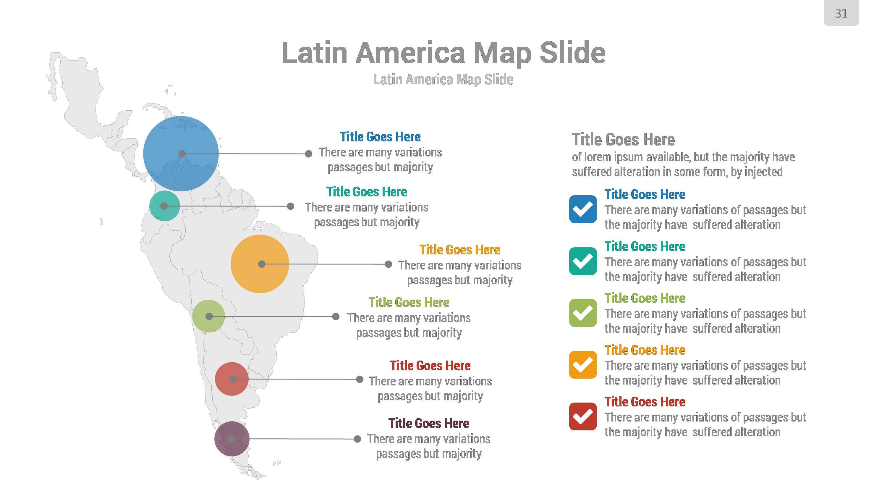 Americas Maps PowerPoint Presentation Template By Rojdark - Map of united states for powerpoint presentation