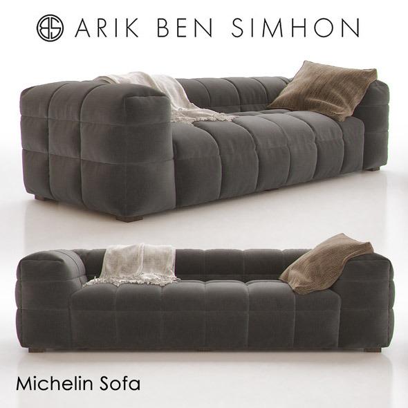 Michelin Sofa by Arik Ben Simhon - 3DOcean Item for Sale