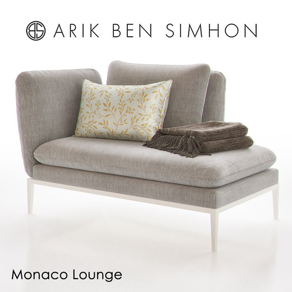 Monaco Chaise Lounge I by Arik Ben Simhon - 3DOcean Item for Sale