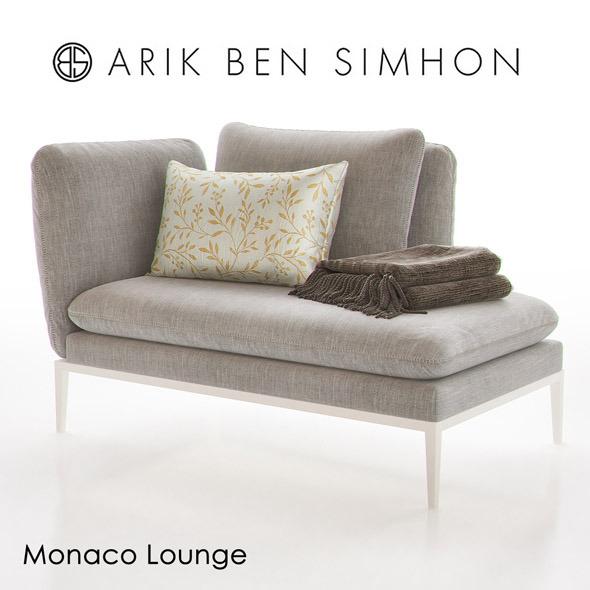 Monaco Chaise Lounge I by Arik Ben Simhon - 3DOcean Item for Sale