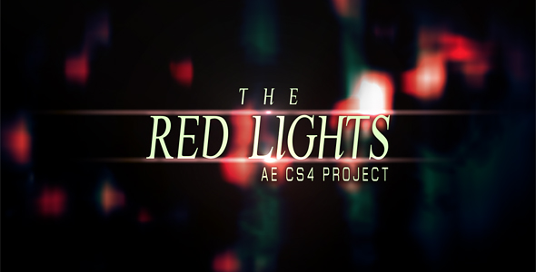[VideoHive 151249] Red Lights PRJ | After Effects Project