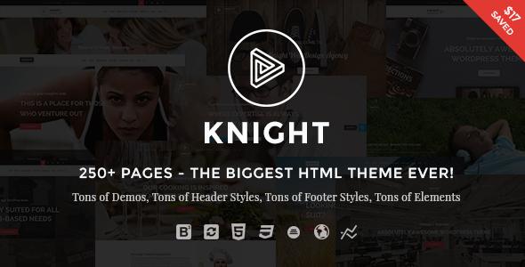 Knight | The Multi-Purpose HTML5 Template