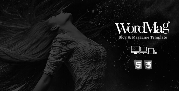 WordMag Blog & Magazine Responsive Template