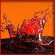 HD Crown Water Paint Liquid Splash 03