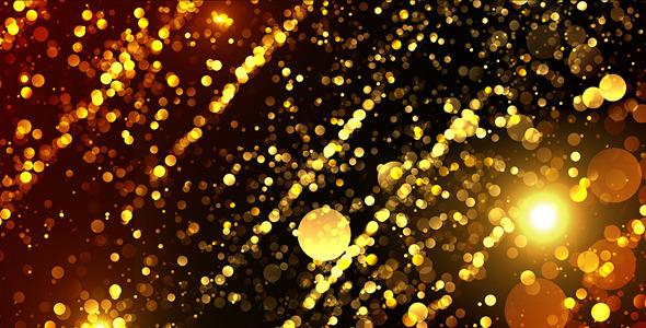 VideoHive Gold Glitter 12482594