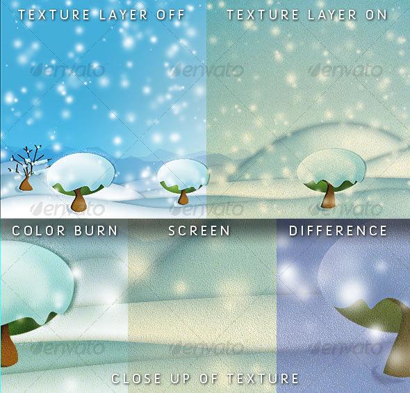 GraphicRiver Digital Freeze Landscape 50258