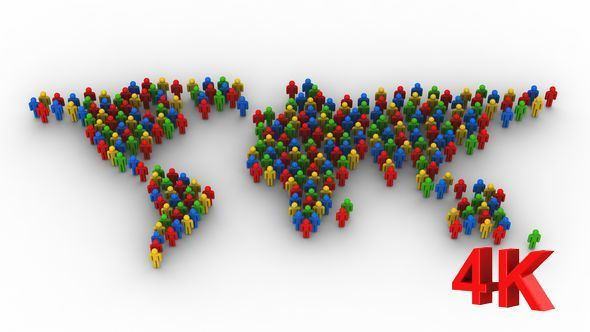 People formed a world map motion graphics videohive scrolling the people formed a world map motion graphics videohive gumiabroncs Images