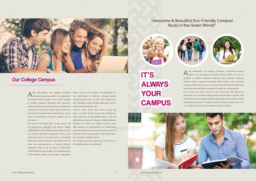 Student vs College Prospectus by Shemul – College Brochure