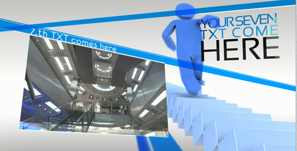 After Effects Project - VideoHive Stairs presentation 151457