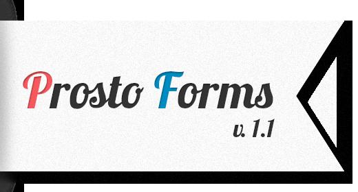 Prosto Forms