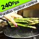 Dropping Asparagus into Boiling Pan