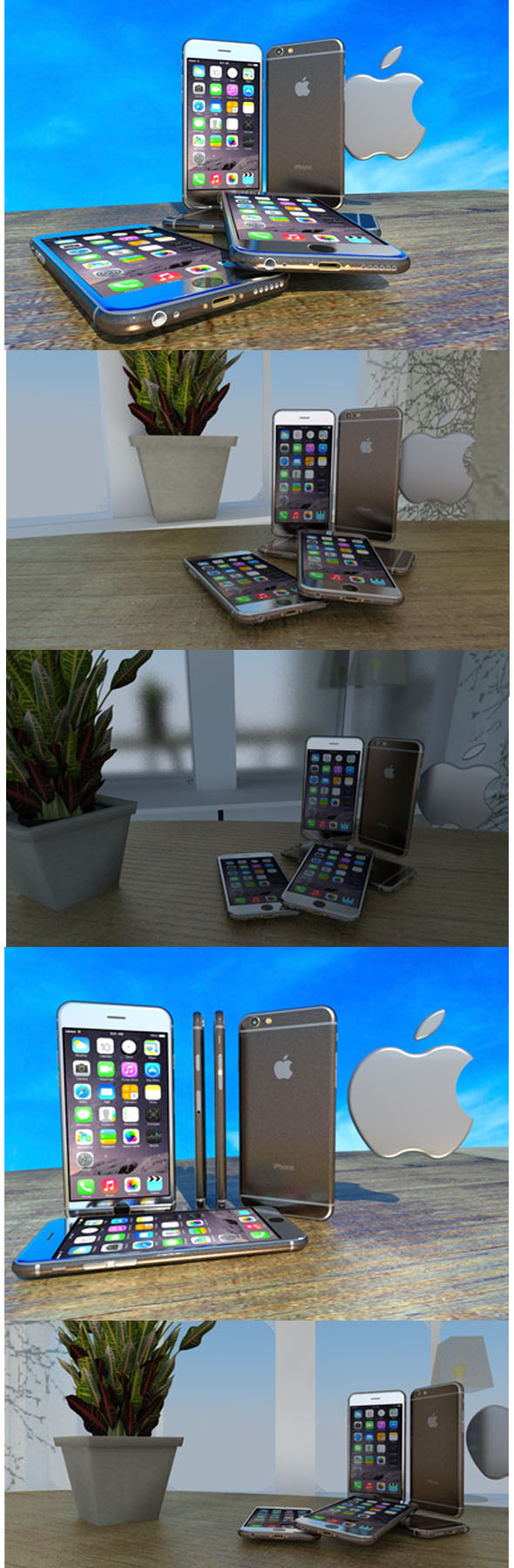 Apple's iPhone 6 - 3DOcean Item for Sale