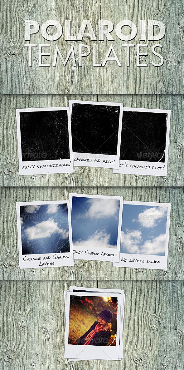GraphicRiver Polaroid Templates 151524