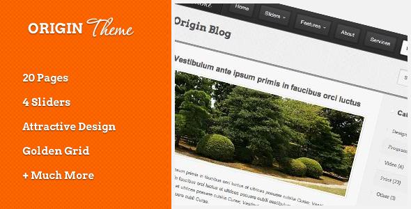 Origin HTML Theme