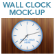 Wall Clock Mock-up