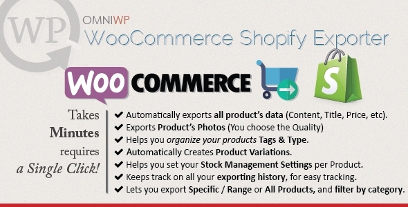 WooCommerce to Shopify Exporter