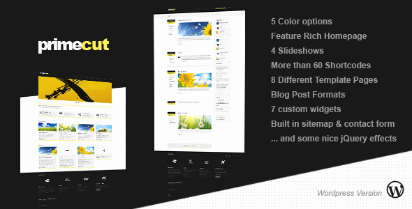 ThemeForest Primecut Wordpress version 1239228