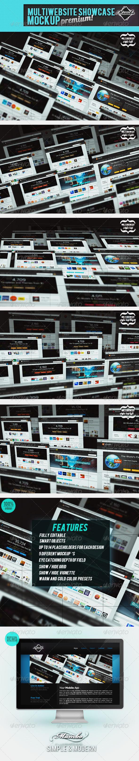 GraphicRiver MultiWebsite Showcase MockUp 945015