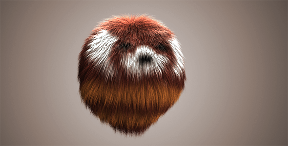 Red Panda Fur - 3DOcean Item for Sale
