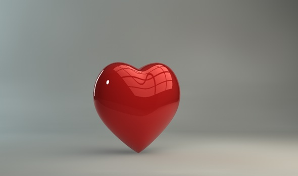 3D love heart valentines day - 3DOcean Item for Sale