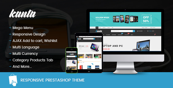 Image of SNS Kanta - Digital Prestashop Theme