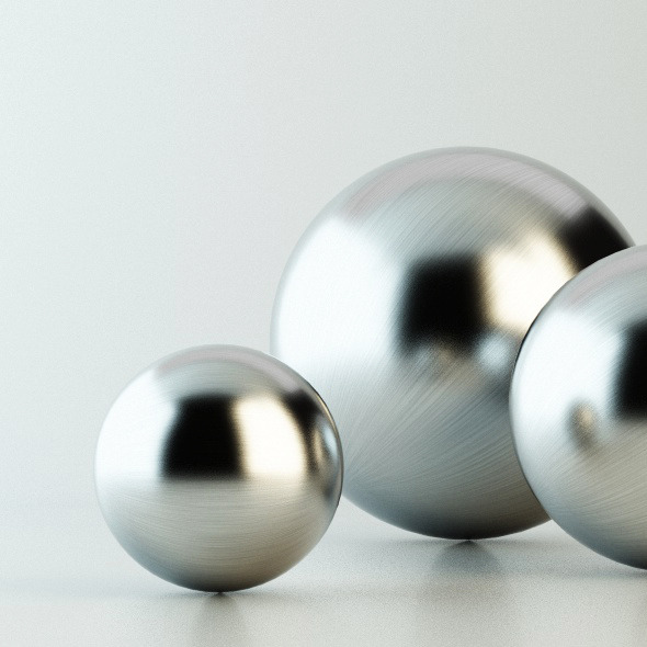 V-Ray C4D Stainless Steel Material - 3DOcean Item for Sale
