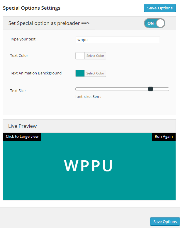 how to add loader in wordpress