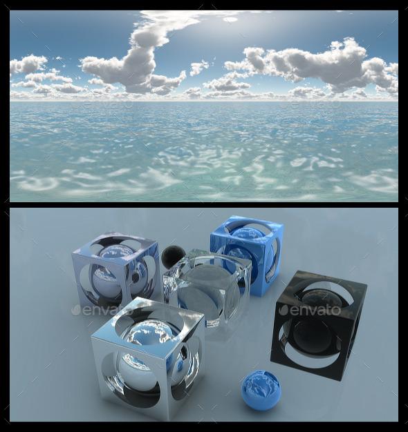 Ocean Bright Day 5 - HDRI - 3DOcean Item for Sale