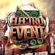 Electro Event Flyer